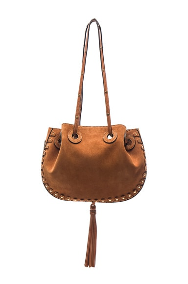 Chloe Small Inez Bag in Caramel