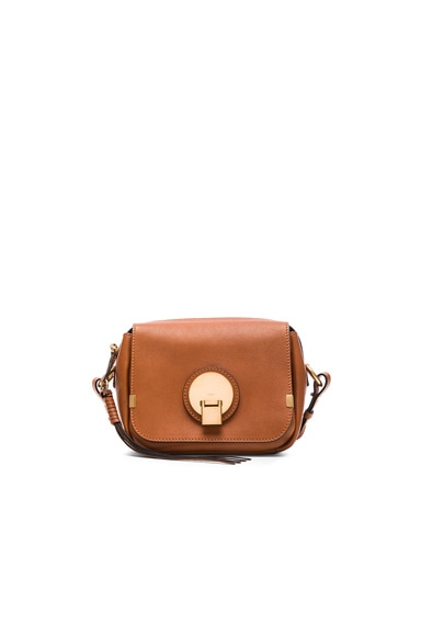 Chloe Small Indy Camera Bag in Caramel