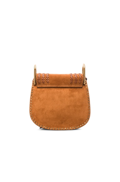 Small Suede Hudson Bag
