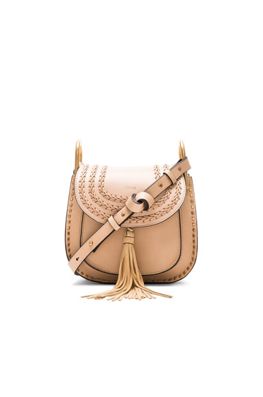 Chloe Small Hudson Bag in Pearl Beige