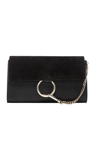 Chloe Faye Clutch in Black