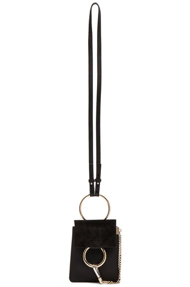 Chloe Faye Mini Bracelet Bag in Black