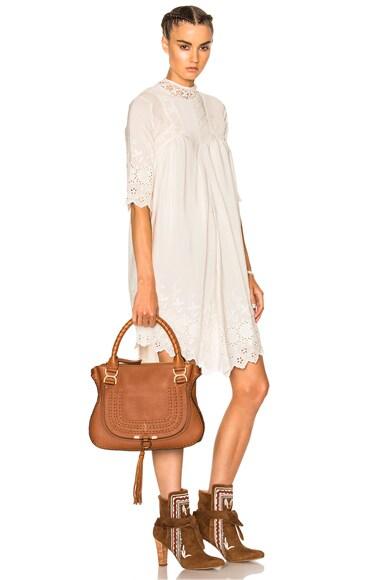 Medium Braided Leather Marci Bag