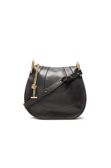 Chloe Small Hayley Hobo in Black