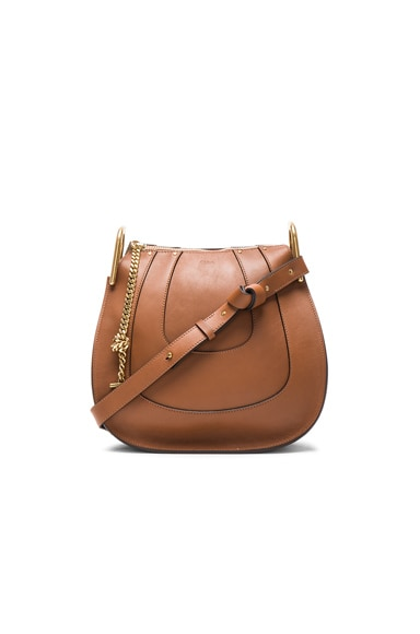 Chloe Hayley Small Hobo in Tan