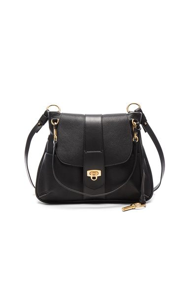 Chloe Medium Lexa Bag in Black