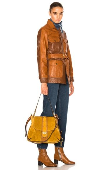 Medium Stud Suede Lexa Bag