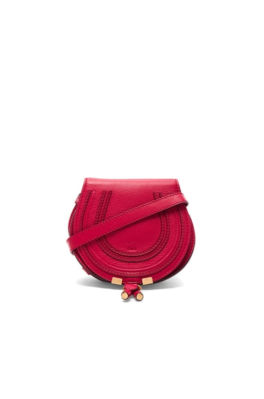Chloe Small Marcie Satchel In Tulip Red
