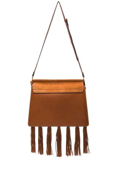 Medium Braiding & Tassels Faye Shoulder Bag