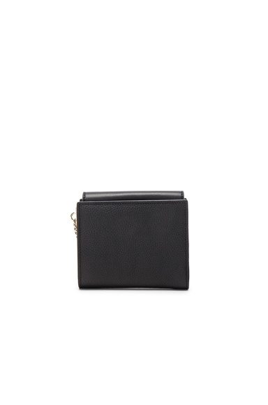 Leather Faye Square Wallet