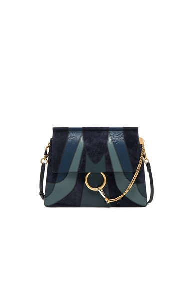 Chloe Medium Faye Bag in Full Blue