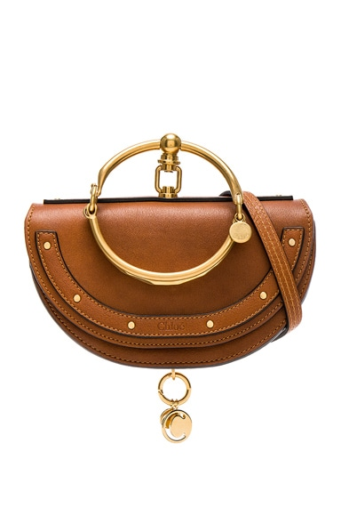 Small Nile Leather Minaudiere Chloe