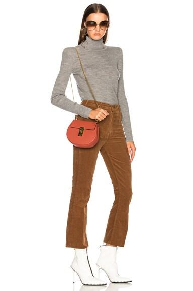 Mini Drew Leather Shoulder Bag