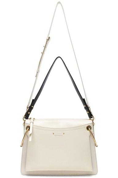 Medium Roy Calfskin & Suede Shoulder Bag