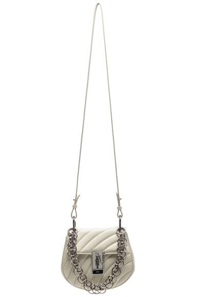 Mini Drew Bijou Quilted Smooth Calfskin Shoulder Bag