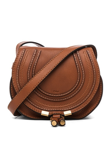 Chloe Small Marcie Satchel in Tan
