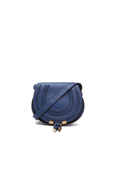 Chloe Small Marcie Satchel in Royal Navy