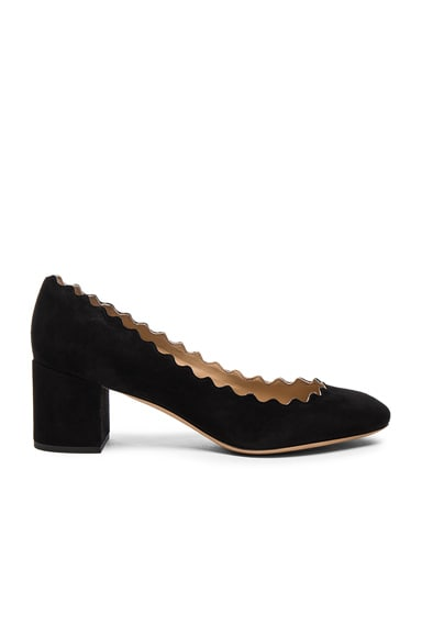Chloe Lauren Suede Pumps in Black