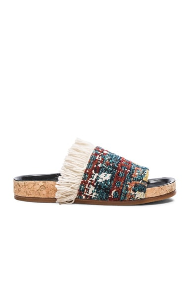 Chloe Tapestry Kerenn Sandals in Kilim Rug