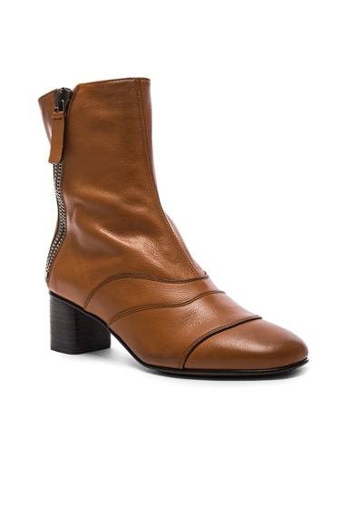Leather Lexie Low Boots