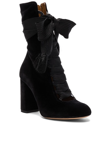 Velvet Harper Lace Up Boots