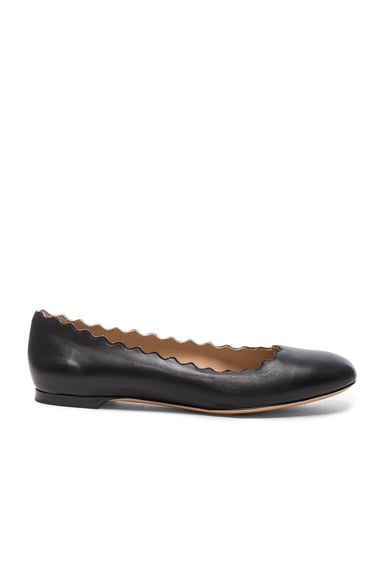 Lauren Leather Flats