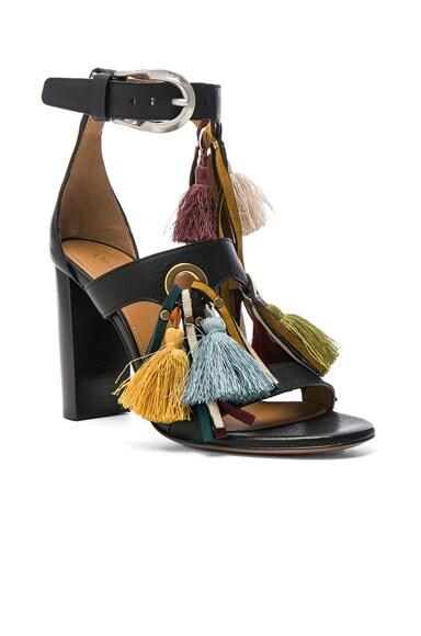 Miki Tassel Sandals