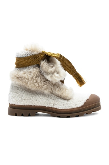 Parker Shearling Hiking Boots