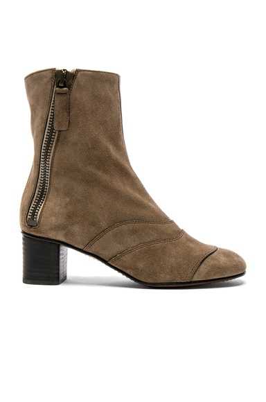 Suede Lexie Low Boots Chloe