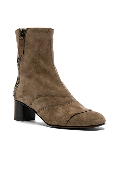 Suede Lexie Low Boots