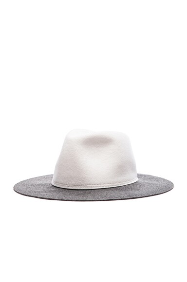 Two Tone Pinch Hat