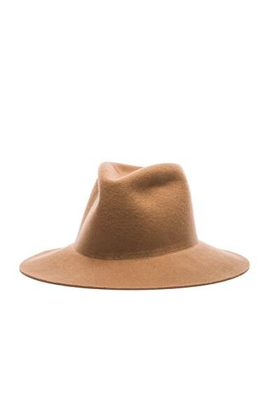 Short Brim Pinch Hat