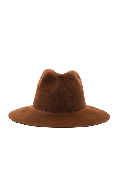 Clyde Pinch Hat in Nutmeg