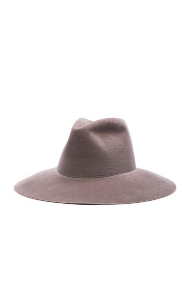 Wide Brim Pinch Hat