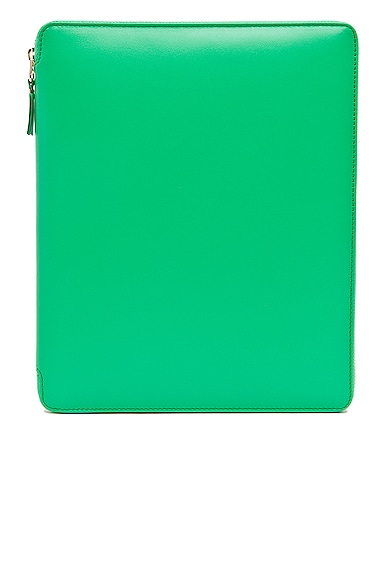 Comme Des Garcons Classic iPad Case in Green