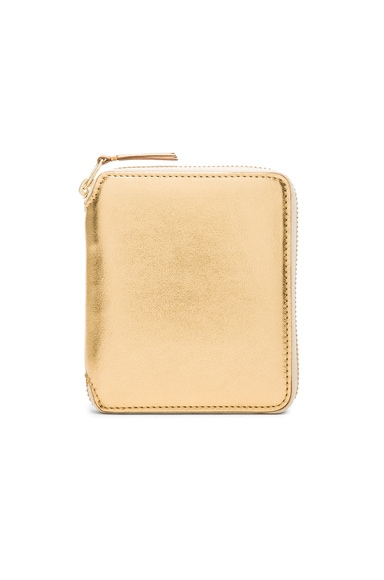 Gold Line Zip Wallet