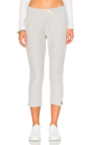 Champion Crop Pants in Heather Gray