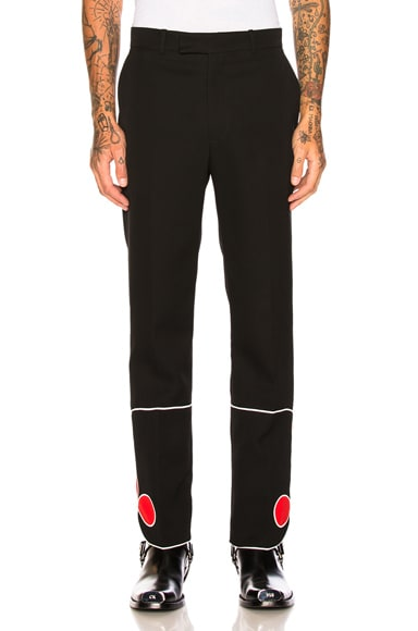 Red Bottom Trousers