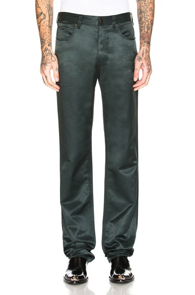 Satin Uniform Pants