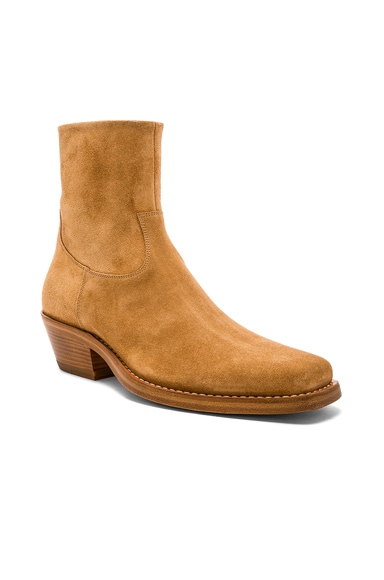 Suede Western Tods