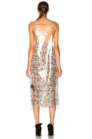 Printed Cupro Gauze Midi Dress