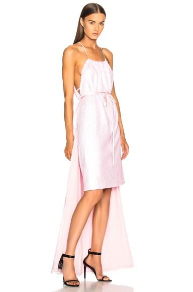 Sequin Hi-Low Hem Dress