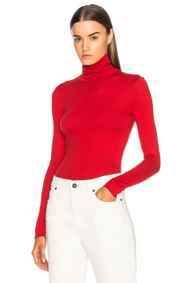 Interlock Jersey Turtleneck