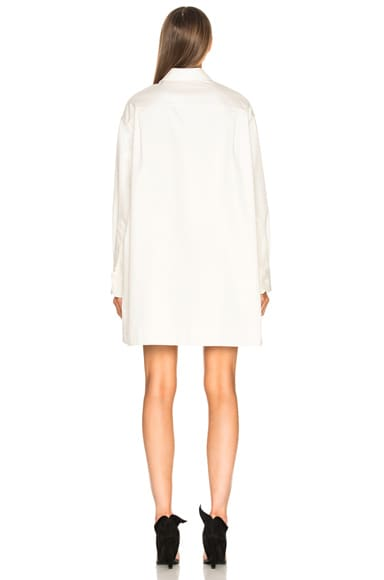 Cotton Twill Oversized Shirt