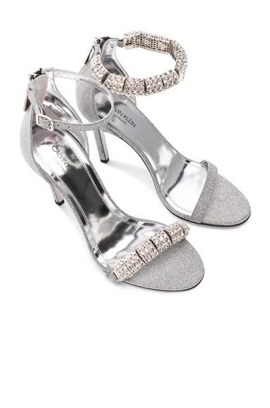 Camelle Diamond & Swarovski Embellished Sandals