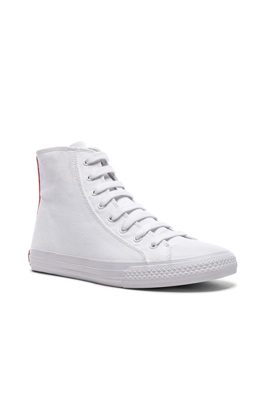 Canvas High-Top Sneakers