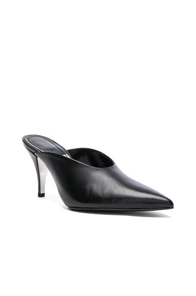 Leather Roslynn Heels