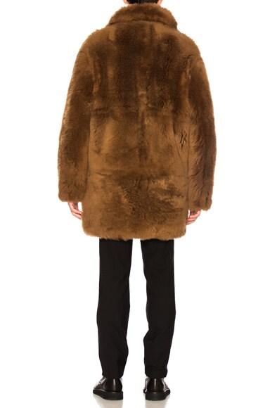 Reversible Sheep Shearling Coat