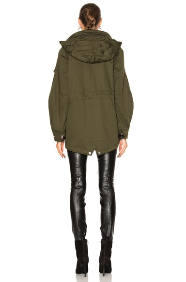 Western Military Parka