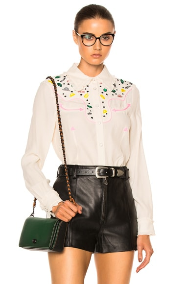 Western Embellished Top